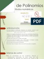 Raíces de Polinomios