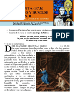 HORA SANTA Con San Pedro Julián Eymard. Jesús Manso y Humilde Corazón (37.b)