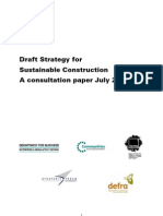 Sustainable Construction Strategy Draft