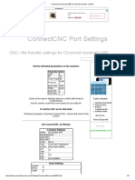 Cincinnati Acramatic 850 G-code File Transfer or DNC