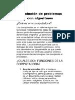 Resolución de Problemas Con Algoritmos