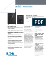 UPS Eaton DX - Monofásico