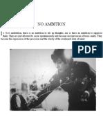 No Ambition