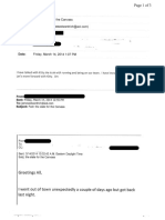 Jim Rich Disclosed Email From 2014