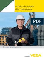 33481 ES Medicion de Nivel y de Presion Para La Industria Metalurgica