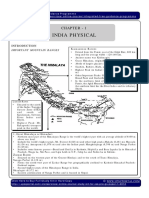 IGP CSAT Paper 1 Geography Indian Geography Physical India Physical Part 1