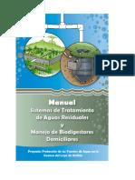 Manual de Tratamiento de Aguas Residuales