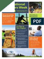 Surveyors Week Poster 2018 D