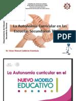 La Autonomía Curricular Charla
