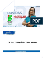 Aulão - Ldb e Alterações - Viviane Barros