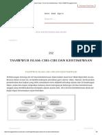 Tasawwur Islam_ Ciri-ciri Dan Keistimewaan – WLA 104_03 Pengajian Islam