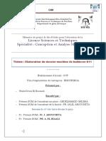 Elaboration Du Dossier Machine - DRISSI EL BOUZAIDI Walid_3355