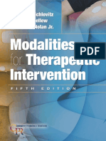 Modalities for Therapeutic Intervention 5th Edition - Susan L. Michlovitz - 2011 - 0803623917