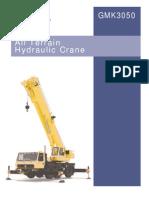 50tonne Crane Load Chart