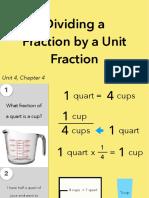 4.4b Dividing a Fraction by a Unit Fraction