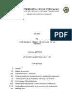 Propiedades Fìsico Mecánicas de La Madera