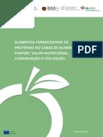 Alimentos Fornecedores de Proteínas No Cabaz de Alimentos Do POAPMC