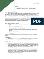 Pol 5.1 Building Access, Use, & Security