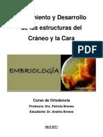 Crecimiento y Desarrollo  de las estructuras del  Cráneo y la Cara .pdf