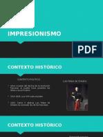 Impresionismo Contexto Historico