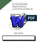 wems faculty staff handbook 2017-2018