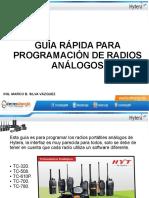 Configuración Rápida Radio HYTERA
