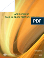 Agribusiness French E-book Afrique