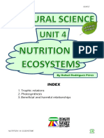 Student's Booklet - Nutrition in Ecosystems