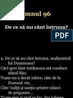096.de Ce Sa Nu Cant Intruna
