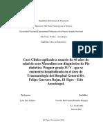 Caso Clinico DM PIE WAGNER