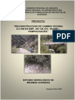 Informe Hidrologia Viraco Pampachacra