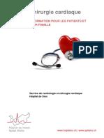 20130607 Brochure Chirurgie Cardiaque