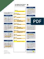 lusd school calendar 2017-2018