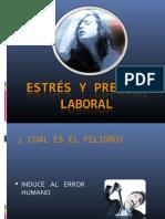 ESTRES Y PRESION LABORAL