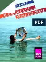 06 Kauderwelsch Hebraisch Wort Für Wort