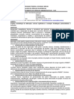 CAD 001 Ger Projetos 1º Sem 2018 Prof MMM