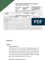 Tabla de Datos Usados Para Ensayo Del Motor Diesel Toyota 1c[1]