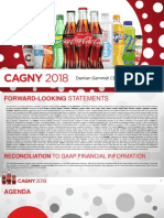 CCE CCEP Coca Cola European Partners CAGNY 2018