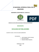 Ecologia de Poblaciones Monografia