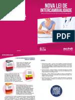 FOLHETO INTERCAMBIALIDADE Medicamentos
