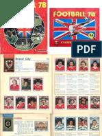 Panini - Football 80s
