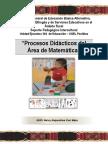 Separata de Procesos Didácticos de Matemática - Nelcy