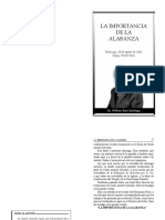 20130818 La Importancia de La Alabanza 0