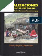 Socializaciones en El Centro-sur Andino - Néstor Taipe