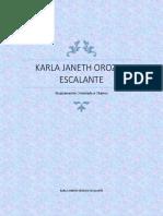 Karla Janeth Orozco Escalante