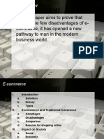 E Commerce Presentation