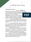 Resolución Del Presidente Vázquez