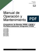 Operacion y Mantenimiento 950h