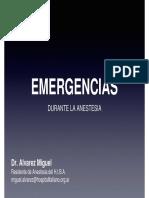 Clase 9. Emergencias