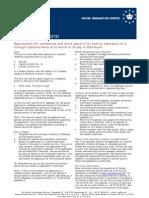 Spouse Application Form Green Card Scheme